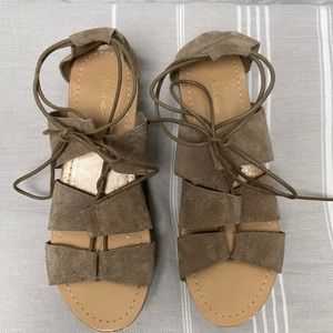 Park Lane Suede Gladiator Style Sandals US6.5